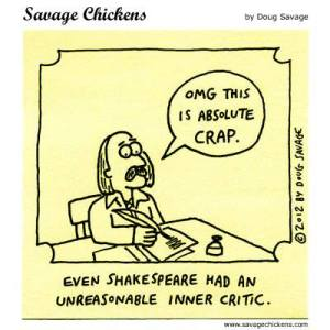 shakespeare's inner critic
