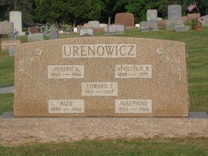 urenowicz headstone 5-22-12